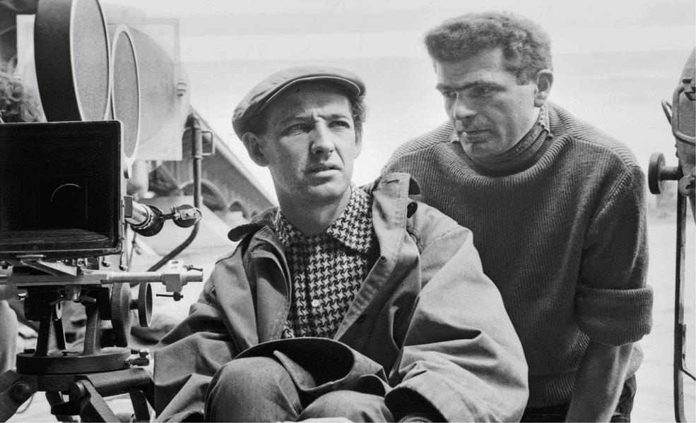 Andrzej Wajda i Janusz Morgenstern