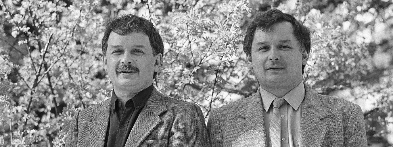 Bracia Lech i Jarosław Kaczyńscy