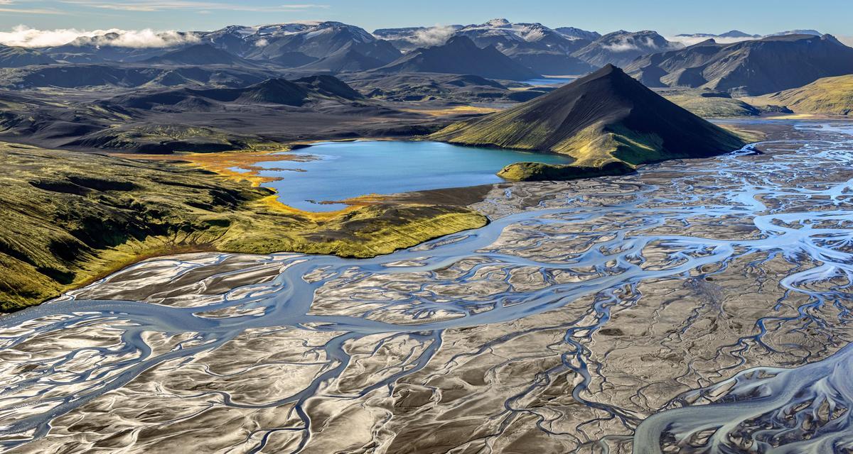 Rzeki płynącezwulkanów