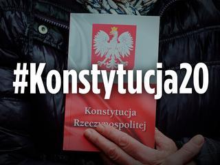 #Konstytucja20, czyli dwie dekady ustawy zasadniczej. Zrób sobie zdjęcie z polską konstytucją i prześlij je do nas