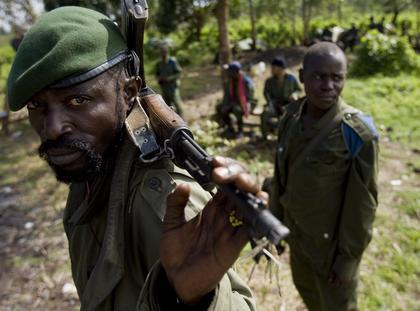 afryka wojsko żołnierz nigeria kongo partyzanci dżungla