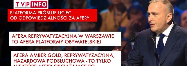 Grzegorz Schetyna Platforma Obywatelska PO polityka TVP Info media dziennikarstwo