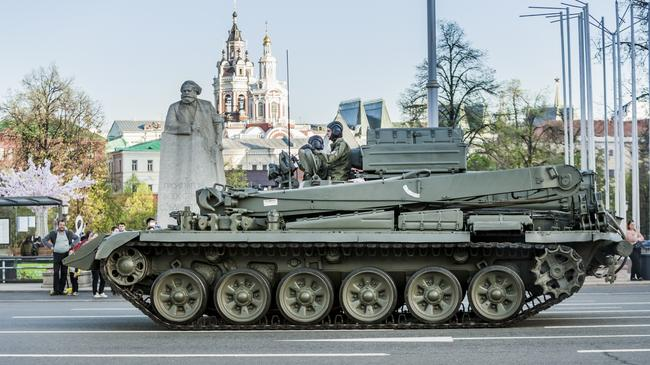 Preparations For The 9th Of May Parade In Moscow