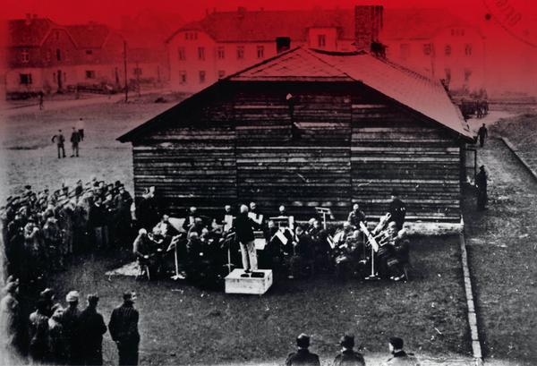orkiestra obozowa wAuschwitz