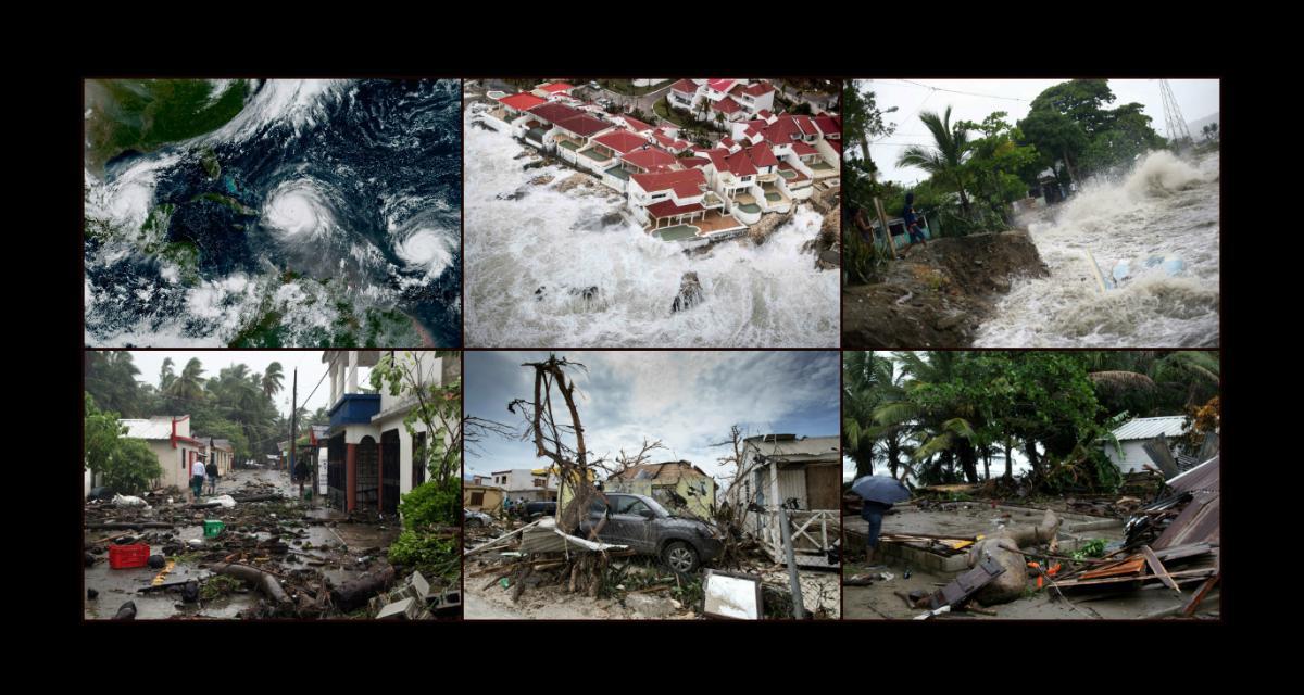 Irma szaleje nadAtlantykiem