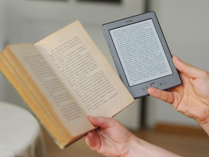 E-book, książka, kindle amazon