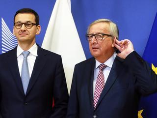 PiS nie udało się zakończyć sporu z KE. Morawiecki w ostatniej chwili musiał ratować sytuację