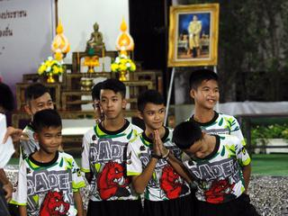 Tajlandia: Uratowani chłopcy wyszli ze szpitala