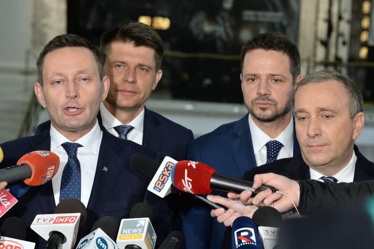 Ryszard Petru Grzegorz Schetyna Rafał Trzaskowski Paweł Rabiej polityka Nowoczesna Platforma Obywatelska PO