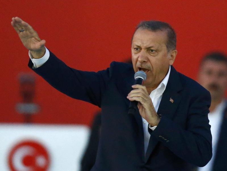 turcja Recep Erdogan