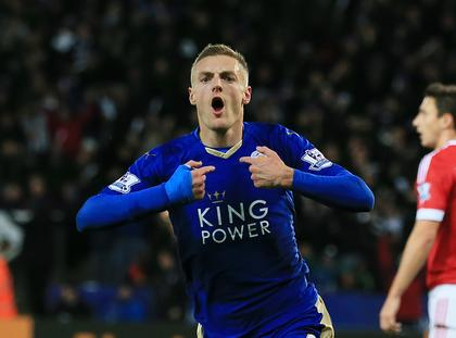 Leicester City Jamie Vardy piłka nożna Premier League