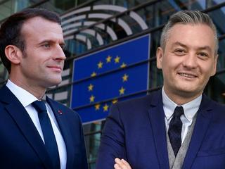 Macron tworzy europejską partię i szuka sojuszników. Sprzymierzy się z Biedroniem?