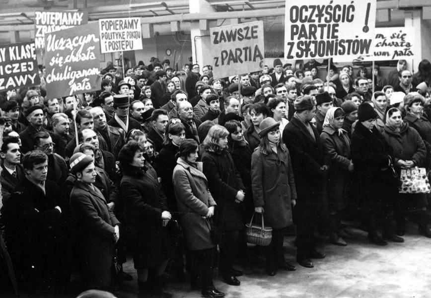 antysemityzm Marzec 68 kampania antysemicka
