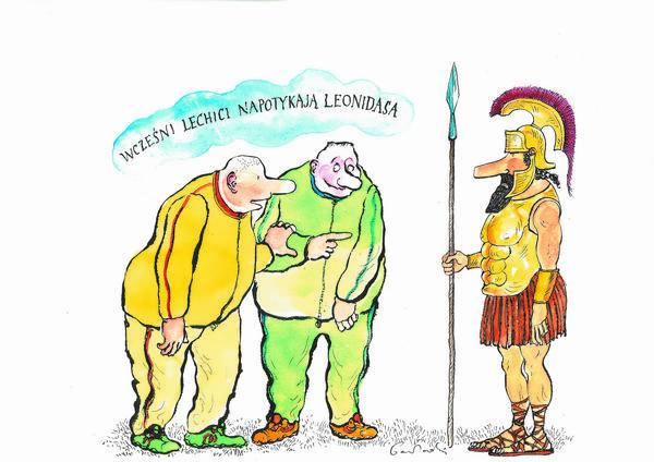 Mity polskie, dresiarze, Rzymianie