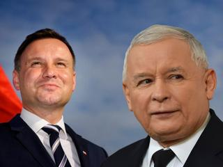 Jak Andrzej Duda korzył się przed braćmi Kaczyńskimi