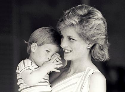 Książę Harry i Diana
