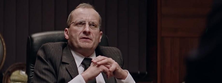 """kadr z filmu """"Ucho Prezesa"""""""