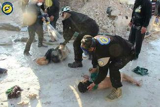"""Atak chemiczny w Syrii? """"Po ataku wiele osób dusiło się"""""""