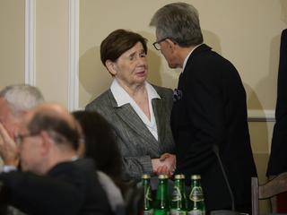 To zdjęcie Zofii Romaszewskiej lepiej niż słowa mówi o tym, co zostało z prezydenckich ustaw o sądach