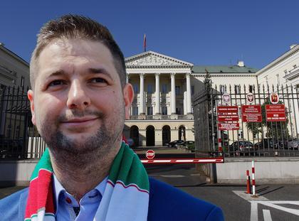 Patryk Jaki Ratusz Warszawy