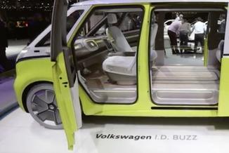 "Volkswagen I.D. Buzz – hołd dla kultowego ""Ogórka"""