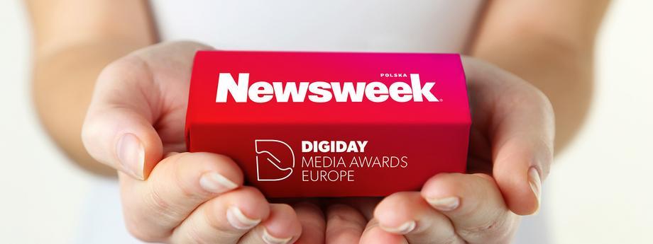 Nagroda Digiday Media Awards Europe dla newsweeka.pl
