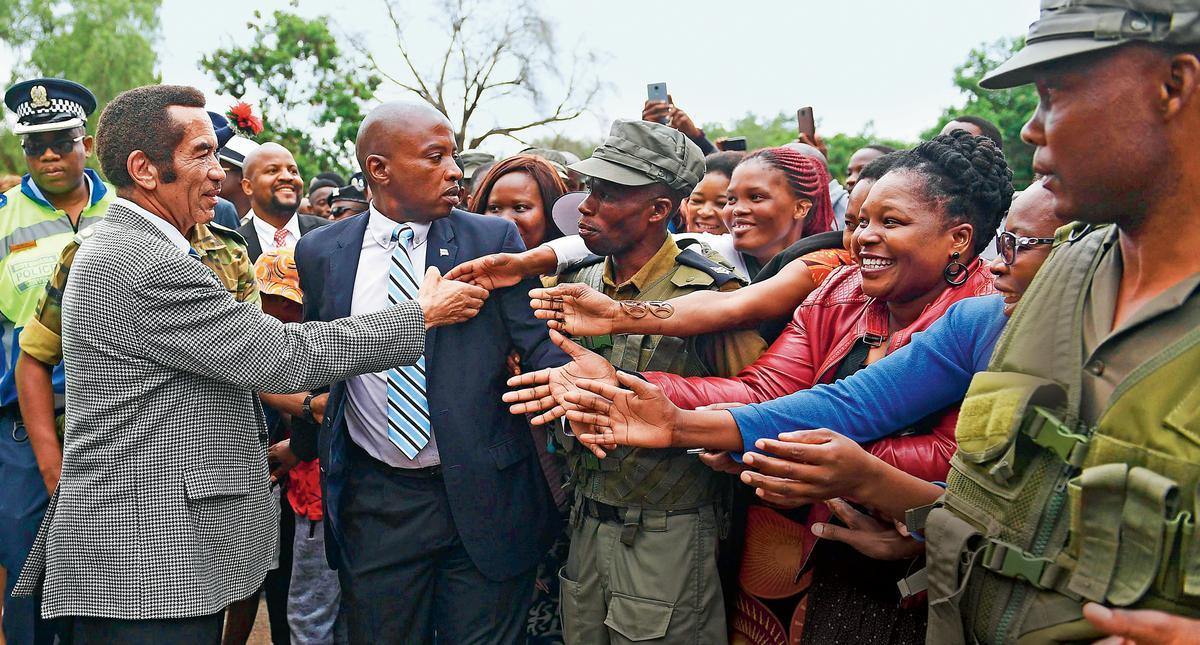 Botswana. Wzór dla Afryki