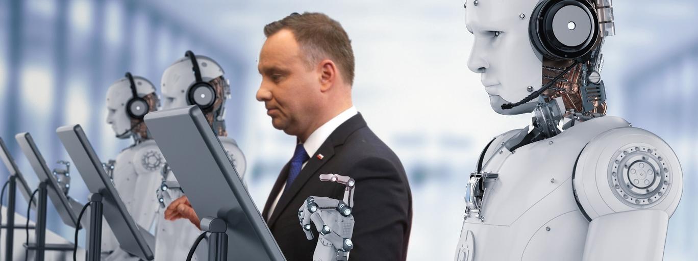 Andrzej Duda boty kampania