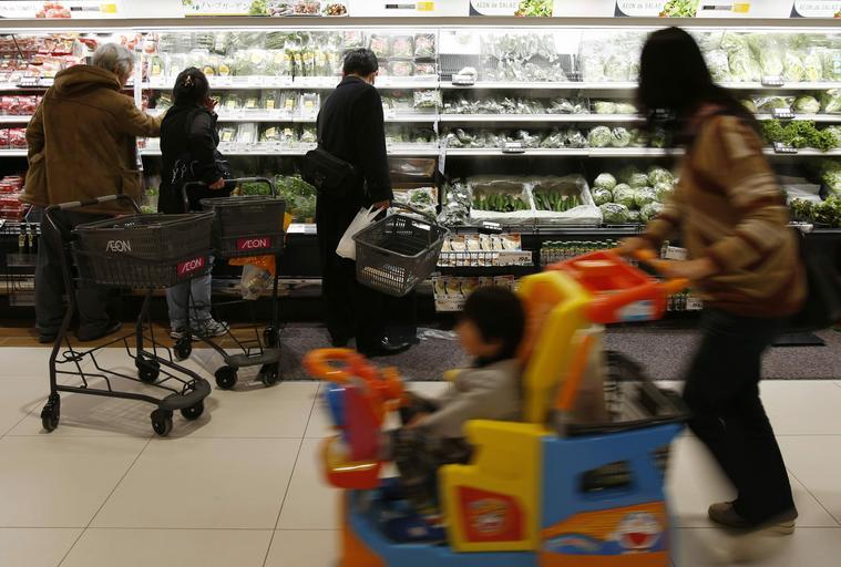 Sklep zakupy jedzenie żywność centrum handlowe