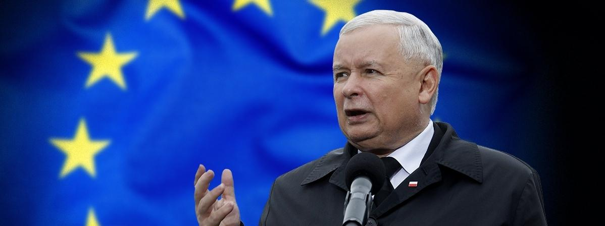 Kaczyński Unia flaga