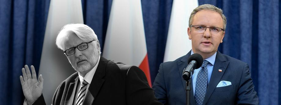 Witold Waszczykowksi Krzysztof Szczerski