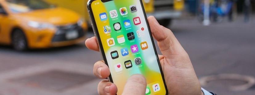 iPhone X, smartfon