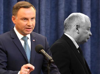 Duda Kaczyński weto
