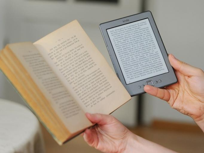 E-book, książka, kindle amazon