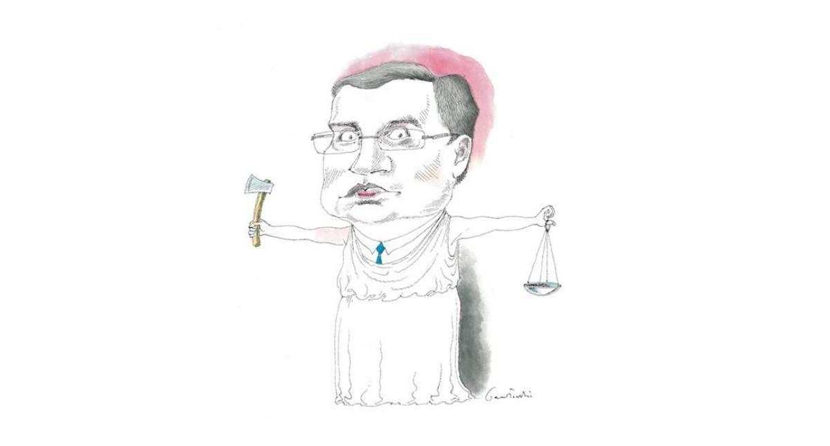 Ziobro, rysunek