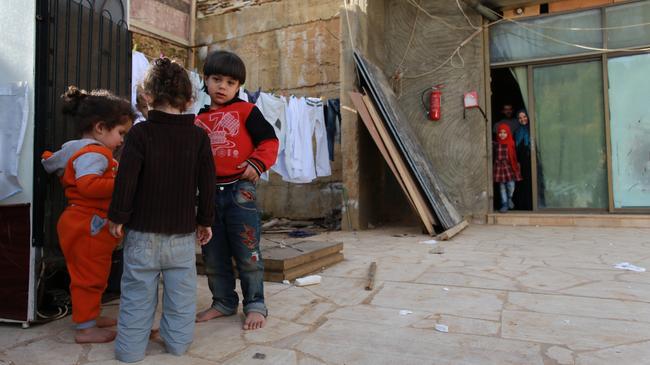 Uchodźcy syryjscy w Libanie