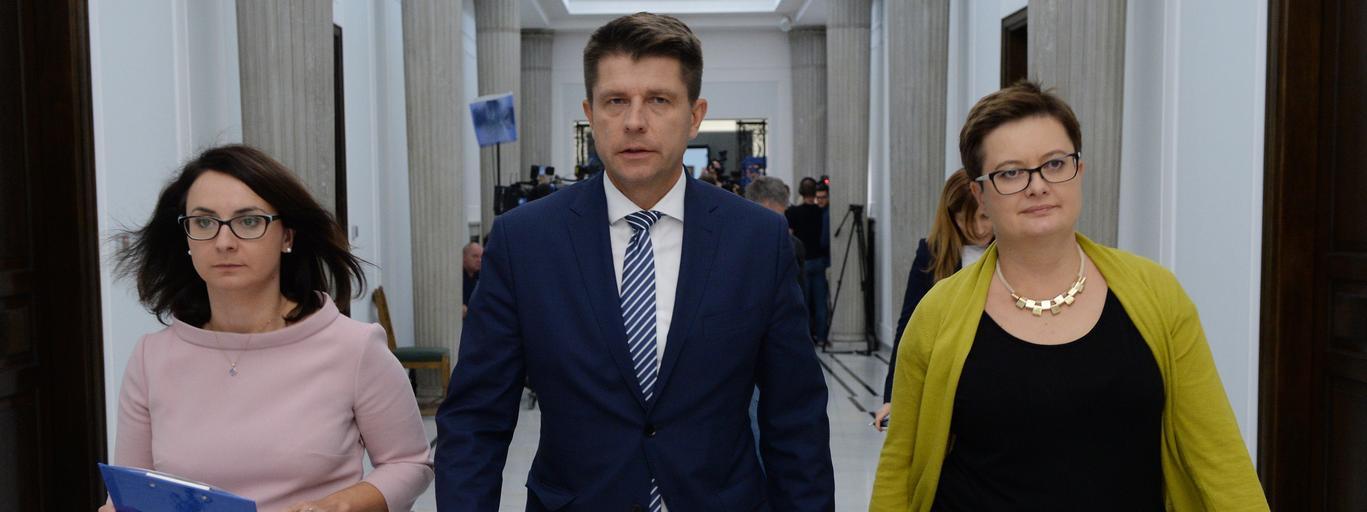 Kamila Gasiuk-Pihowicz Ryszard Petru Katarzyna Lubnauer polityka Nowoczesna