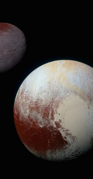 Pluton, Tyche igranica kosmosu