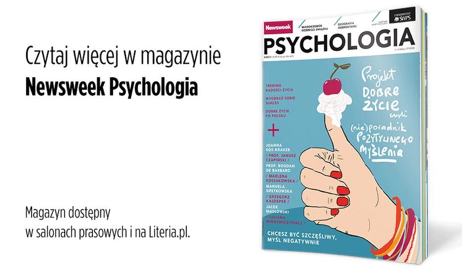 newsweek psychologia pozytywne myślenie