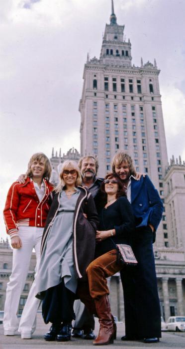 Abba w Warszawie 1976 r.