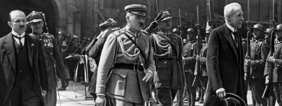Mościcki, Bartel, Piłsudski