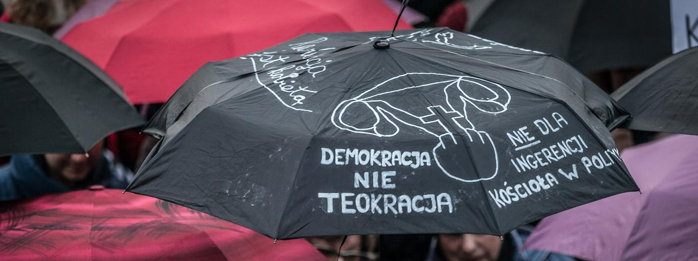 Czarny Protest aborcja Ogólnopolski Strajk Kobiet kobiety feminizm prawa kobiet