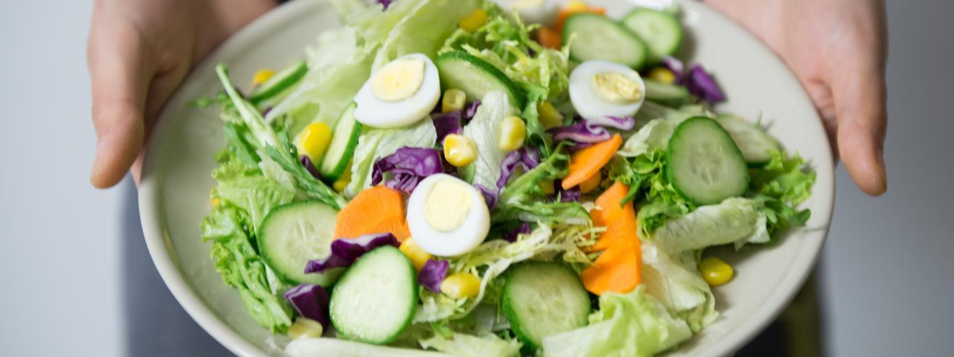 dieta sałatka warzywa