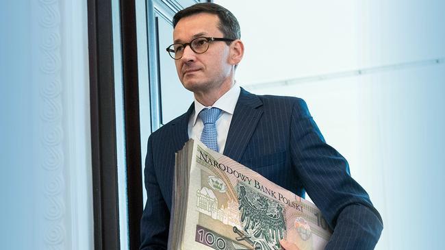 Mateusz Morawiecki pieniądze kasa podatki