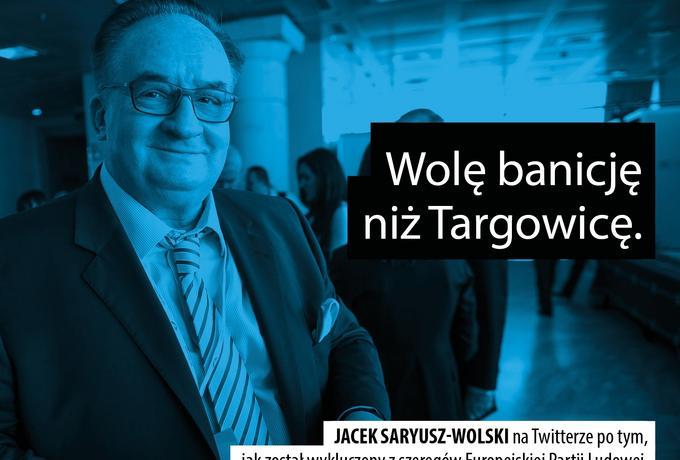 Saryusz-Wolski pisze o Targowicy, a premier Szydło tłumaczy Kaczyńskiego