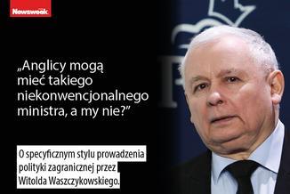 """Waszczykowski to """"oryginał""""? Kaczyński: On po prostu taki jest"""