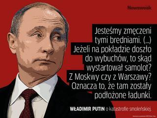 """""""Jeżeli doszło do wybuchu, to skąd startował samolot z Moskwy czy z Warszawy"""""""