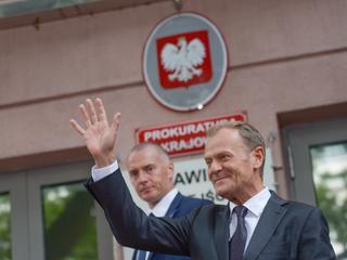 """Tusk zeznawał w prokuraturze ponad 8 godzin. """"Prezes mnie nie przestraszy"""""""