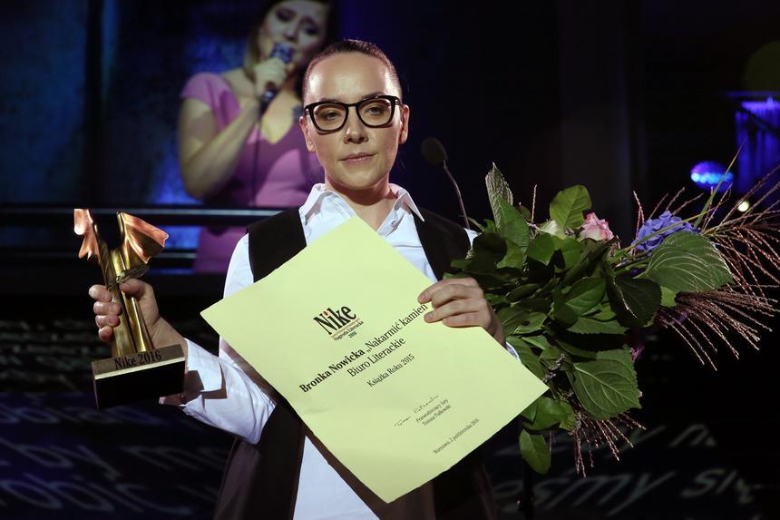 Bronka Nowicka została laureatką Nagrody Literackiej Nike, za