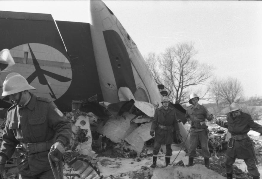 Katastrofa lotnicza samolotu Polskich Linii Lotniczych LOT lł-62